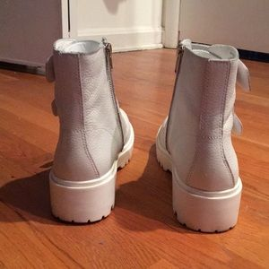58f0f495d42 White Leather Wayne Boots
